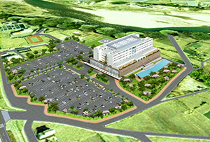 国立病院機構西群馬病院と渋川市立渋川総合病院の再編統合で整備される「渋川医療センター」