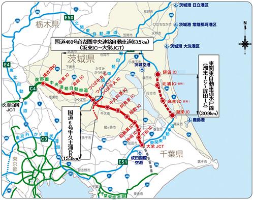 東 関東 自動車 道